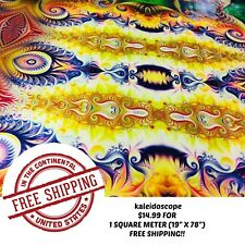 "HYDROGRAPHIC WATER TRANSFER HYDRO DIPPING KALEIDOSCOPE 2 FILM 1SQ (19"" X 78"")"