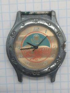 Russia  watch Raketa President Kazakhstan Nazarbayev autograph 1995 Veteran WW2