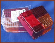 CITROEN 2CV 2 CV - 2 PLASTICHE FANALI POSTERIORI