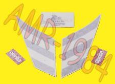 SERIE ADESIVI DECALCO SERBATOIO APRILIA RS 50 1998 NERO 8257012