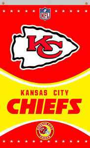 Kansas City Chiefs football team Memorable WM flag 90x150cm 3x5ft banner