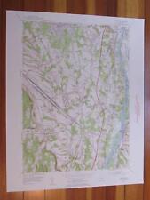 Delmar New York 1954 Original Vintage Usgs Topo Map