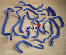 22PCS Silicone hose For NISSAN SILVIA 200SX 180SX S13 CA18DET 1989-1994 BLUE