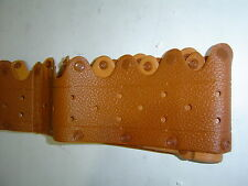 Tan Vinyl Clip On Steering Wheel Cover up to 40cm Sent Registered Post