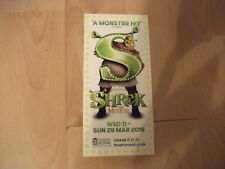 **Shrek The Musical Flyer at Newcastle Theatre Royal**