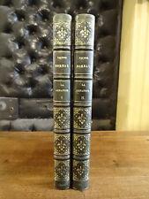 La Renaudie Conjuration d'Amboise Boreau Hivert 1834 2 Volumes Reliure Signée EO