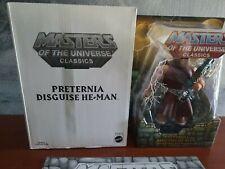 MOTUC, Preternia Disguise He-Man, Masters of the Universe Classics, MOC, w/ map