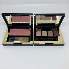 2PC Set Estee Lauder Pure Color Envy Eyeshadow Palette & Blush #420 New