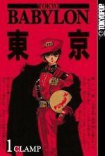 Tokyo Babylon Manga Volume 1 by Clamp Staff (2004, Paperback) Manga Book
