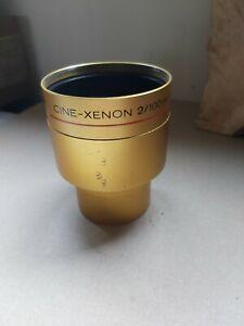 Schneider kreuznach Cine Xenon 2/100mm 35mm projector Lens