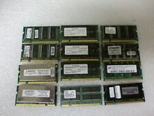 Qty Lot (12) 512MB PC2100Mhz SDRAM Laptop RAM Memory
