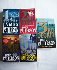James Patterson ~ Women's Murder Club Books 1-5 (1st, 2nd, 3rd, 4th, 5th)
