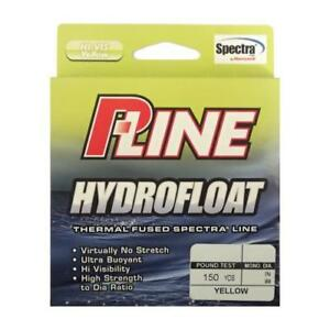 P-Line HydroFloat Thermal-Fused Braided Yellow Line 150yd. (Select Line Weight)