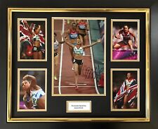 JESSICA ENNIS HAND SIGNED AUTOGRAPH FRAMED PHOTO DISPLAY OLYMPICS LONDON 2012 1.