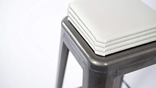 New listing Square Stool Cushion for Industrial / Modern / Farmhouse and Other Metal Stools