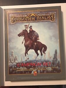 AD&D Forgotten Realms Campaign Setting - Boxed - TSR #1031 MUST SEE! FANTASTIC!!