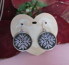 Brighton NORDIC STAR Snowflake Christmas Crystal Convertible Earrings NWT $78