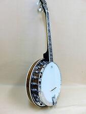 Caraya MBS-4 Tenor 4-String Banjo Mahogany + Gig Bag