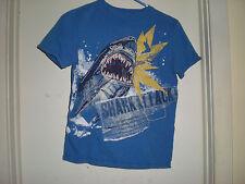 Boy's Gap Kids Shark Attack Design T Shirt Large 10