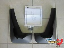 2006-2010 Jeep Commander Deluxe Molded Front Splash Guards Mopar OEM 82209620