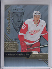 16/17 Fleer Showcase Detroit Red Wings Anthony Mantha Flair RC Row 0 Seat 34