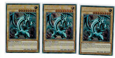 3 X Blauäugiger w. Drache CT14-DE002, Secret Rare, Mint, Deutsch, Playset