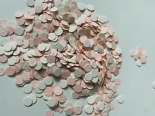 500 Pcs Double Sided Pink Iridescent Glitter Table/Throwing Confetti Party Decor
