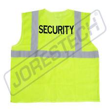 Safety Vest Security Printed Pockets Class 2 Reflective High Vis Jorestech