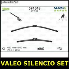Front Wiper Blade Set Pair FOR VOLVO V50 UK ONLY 2.0 06->12 Estate Petrol Valeo
