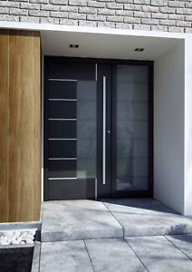 Haustüren aus Polen, Aluprof, Aluminium Haustür, 77 mm Einbautiefe