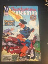 Deathstroke:The Terminator#28 Incredible Condition 8.0(1993) Zeck Cover!!