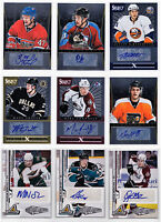 Auto Autograph Signature Cards Choose From List SPs Rookies RC Numbered NHL