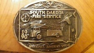 """Sealed South Dakota Fire Service '90 """"Brookings Someplace Special""""  #0044"""
