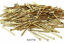SOLID BRASS PANEL PINS, PICTURE TACKS, HARDBOARD NAILS 15mm,20mm,25mm,30mm,40mm
