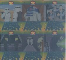 Family Guy Star Wars ANH Complete What Happens Next Chase Card Set WN1-6