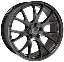 "22X10"" Hellcat Style Wheels For Dodge Ram 1500 Dakota Durango (Rims Set 4)"