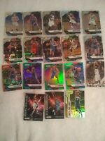 2016-17 Panini Prizm NBA Basketball Lot (18) Inserts And Colored Prizm's