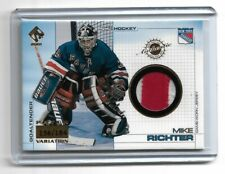 2000-01 PRIVATE STOCK GAME GEAR PATCHES #78 MIKE RICHTER /184 RANGERS