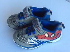 Marvel Spiderman Boy Toddler Kid Sneakers Size 7