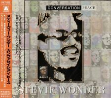 Stevie Wonder - Conversation Peace Japan CD Obi POCT-1055