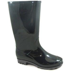 Women's Waterproof Tall Shaft Rainboot Size 10