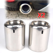 FOR 2009~ MAZDA 6 2013- CX-5 CHROME EXHAUST TAIL PIPE TIP MUFFLER FINISHER TRIM