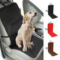 Waterproof Pet Dog Car Front /Rear Seat Cover Cat Anti-Slip Mat Liner Protector