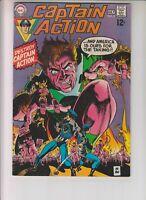 Captain Action 5 VG+ (4.5) 7/69 Wally Wood & Gil Kane artwork!