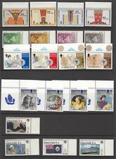 Hong Kong 5 sets of mint stamps (2).
