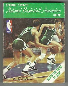 1974-75 The Sporting News National Basketball Association NBA Guide Havlicek