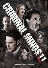 NewCriminal Minds: The Eleventh Season 11 (DVD, 2016, 6-Disc Box Set) Sealed Kit