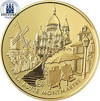 Frankreich 20 Euro Gold 2002 PP Goldmünze der Gebäude Serie: Montmartre