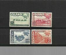 Iceland - UPU Set - 1949 - MM