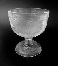 "70s Glas Schale Leuchter ""Miranda"" Nuutajärvi glass bowl Orvola verre annees 70"